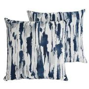 Joey Blue Two Accent Pillows  main image, 1 of 5 images.
