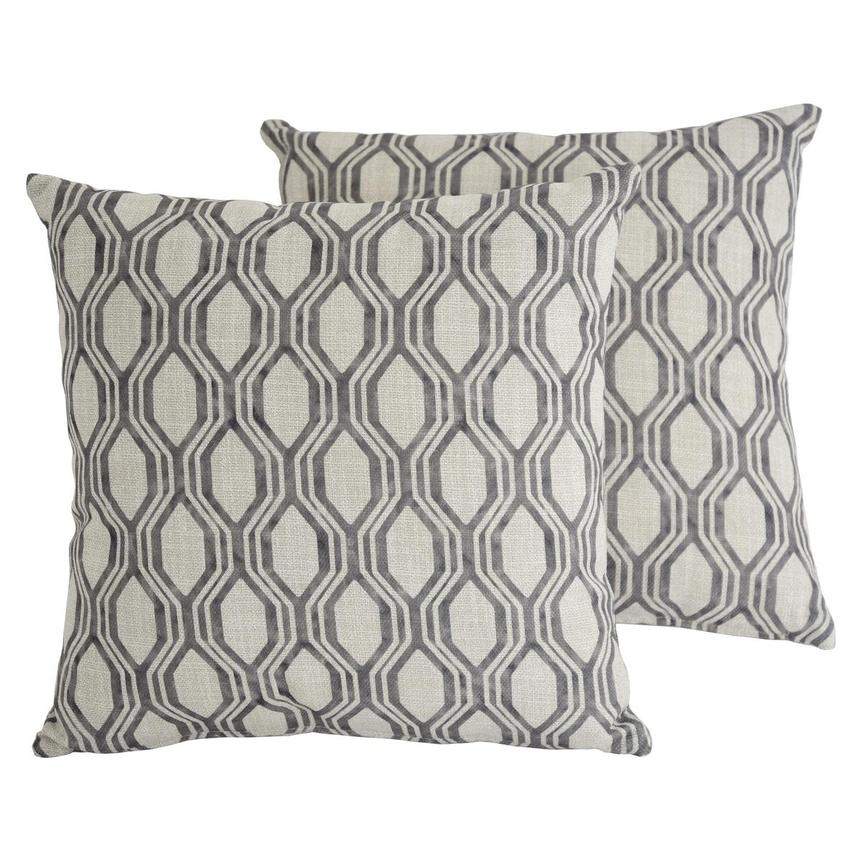 Joey Gray Two Accent Pillows  main image, 1 of 5 images.