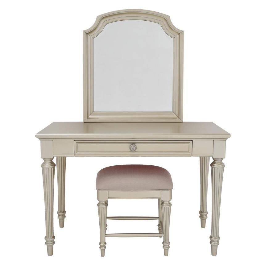 Regency Vanity w/Bench  main image, 1 of 9 images.