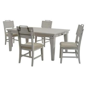 Abalone 5-Piece Casual Dining Set