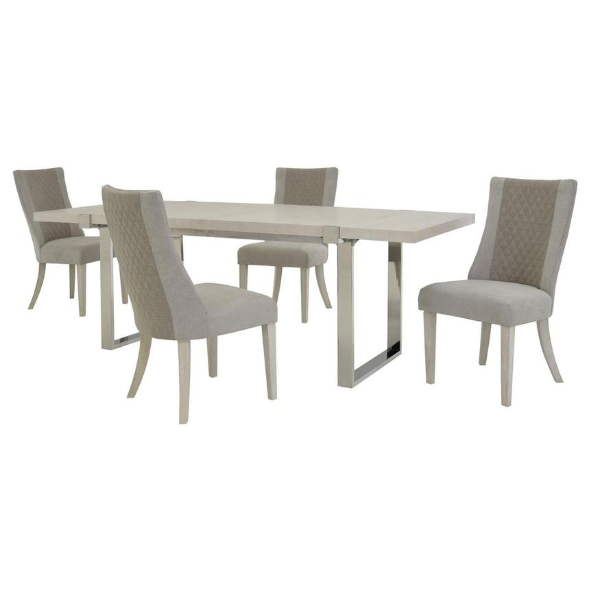 Paradox 5-Piece Formal Dining Set  main image, 1 of 14 images.