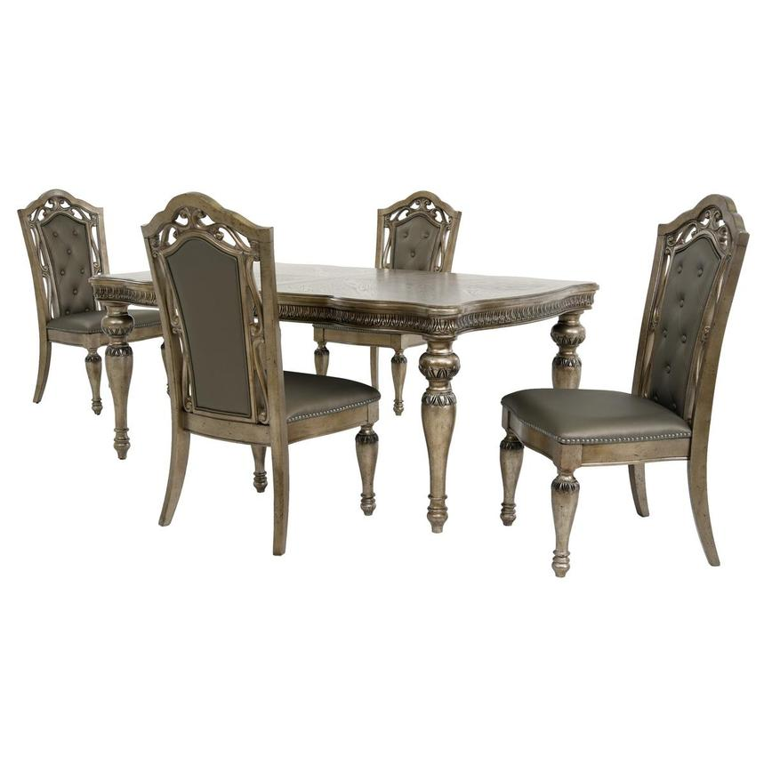 Seville 5-Piece Formal Dining Set  main image, 1 of 15 images.