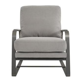 Isa Light Gray Accent Chair