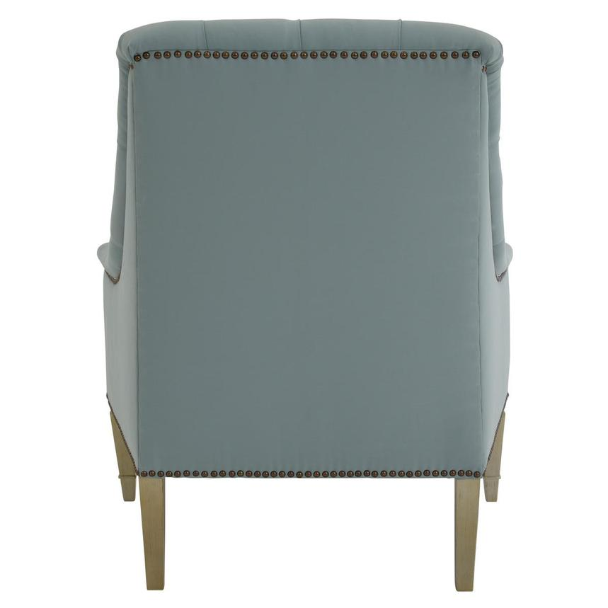 Kimberly Light Blue Accent Chair  alternate image, 4 of 8 images.
