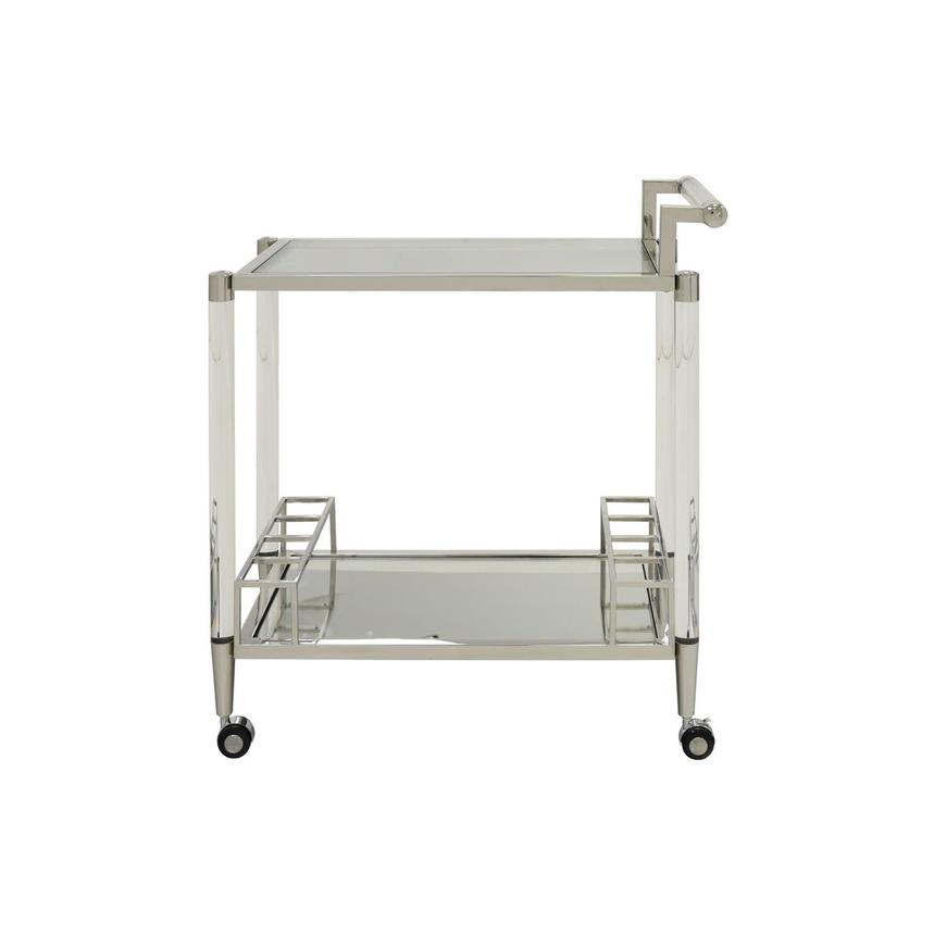 Alfie Bar Cart w/Casters  main image, 1 of 6 images.