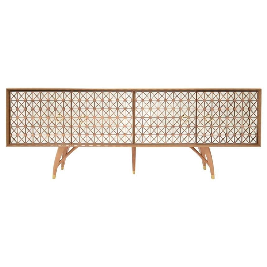 Lola Natural Console Table  main image, 1 of 9 images.