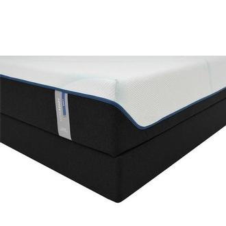 Luxe-Adapt Soft King Mattress w/Low Foundation by Tempur-Pedic