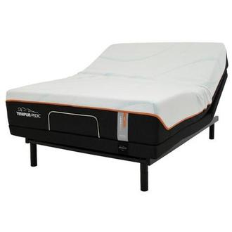 Luxe-Adapt Firm Queen Mattress w/Ergo® Powered Base by Tempur-Pedic