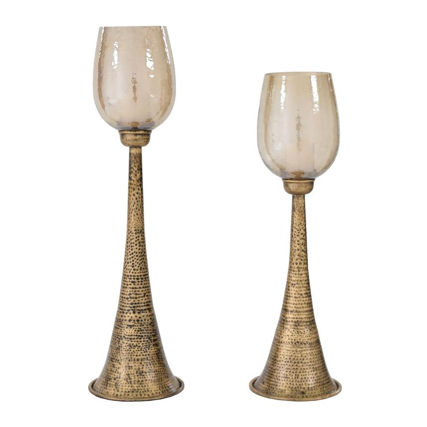 Badal Set of 2 Candle Holders  main image, 1 of 3 images.