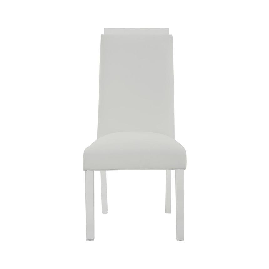 Jass White Side Chair  main image, 1 of 8 images.