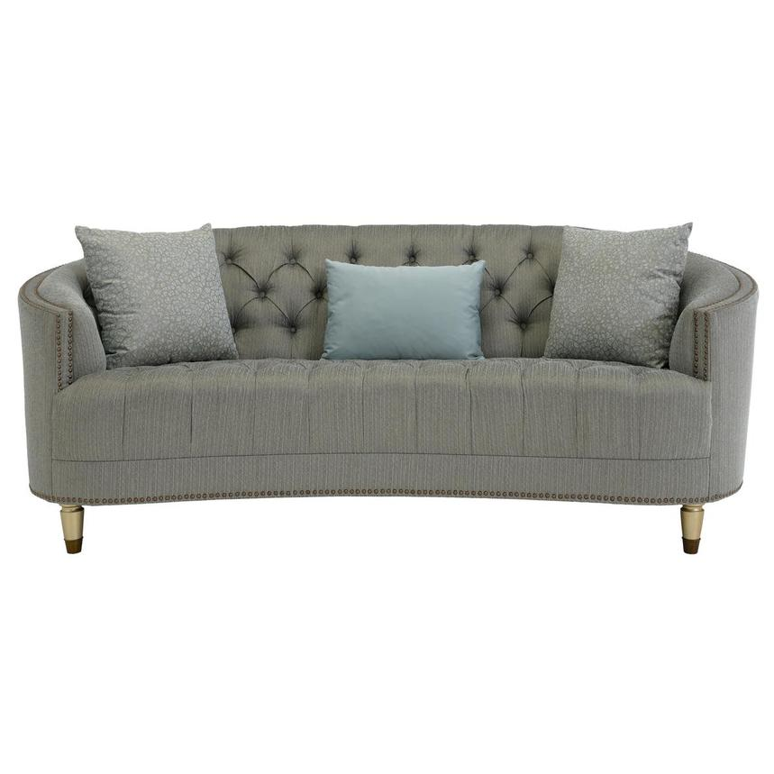 Kimberly Brass Sofa  main image, 1 of 7 images.