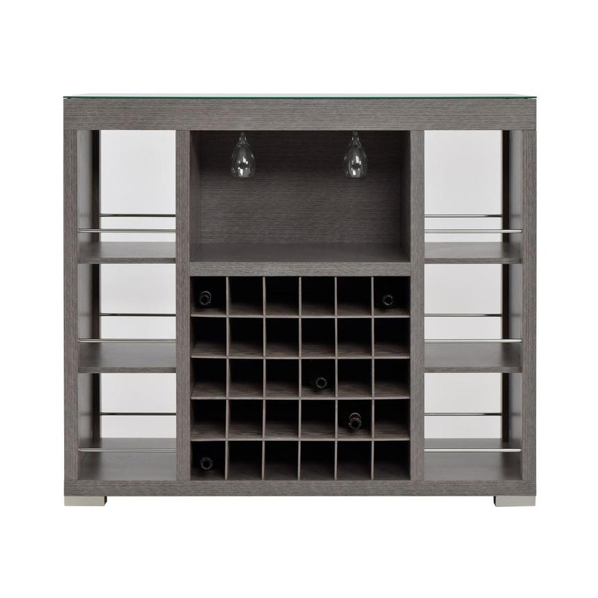Freeport Gray Bar Cabinet  main image, 1 of 8 images.