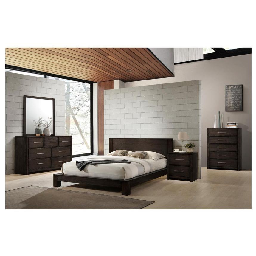 . Chicago 4 Piece Queen Bedroom Set