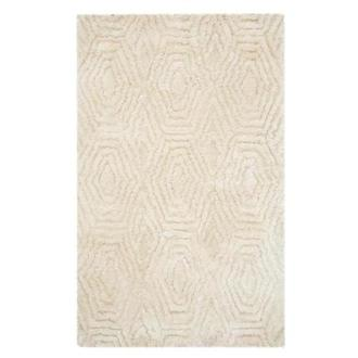 Cream Gem 5' x 8' Area Rug