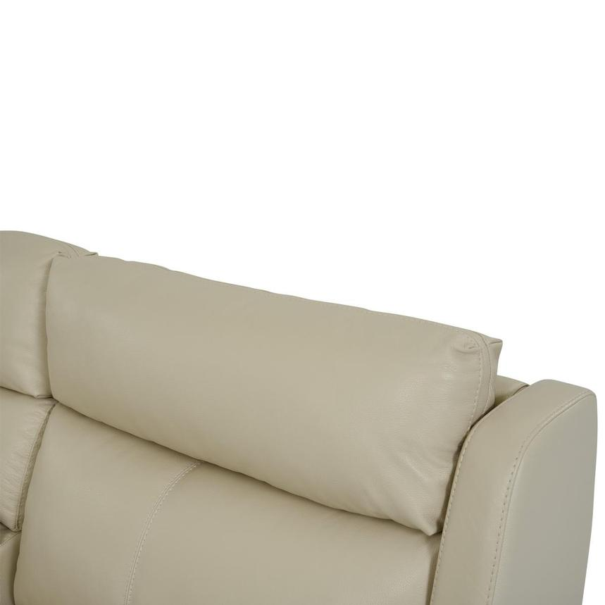 Amanda Cream Power Motion Leather Sofa w/Right & Left Recliners  alternate image, 6 of 11 images.