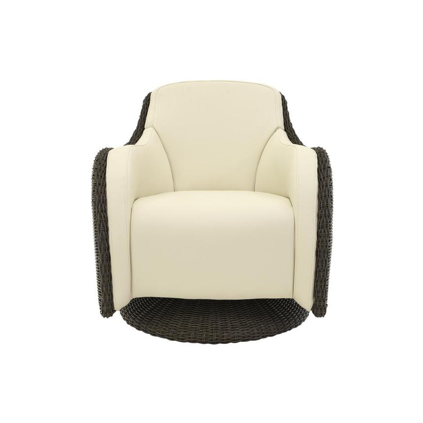 Luxor Brown Swivel Chair  main image, 1 of 6 images.