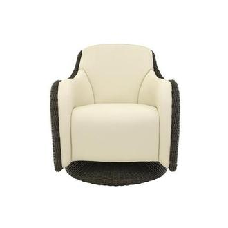 Luxor Brown Swivel Chair