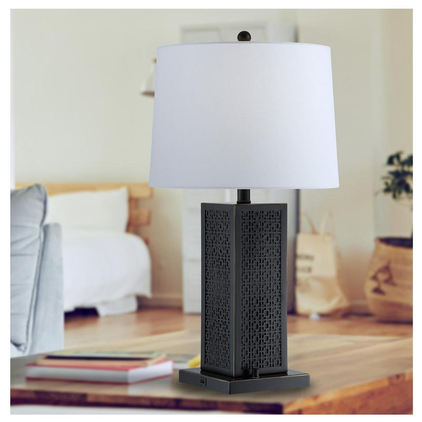 Otis Table Lamp w/Bluetooth Speaker  alternate image, 2 of 3 images.