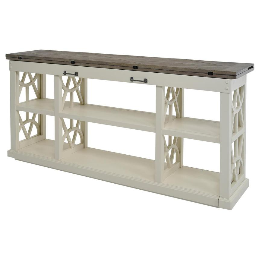 Summer Creek Console Table w/Casters  alternate image, 6 of 11 images.