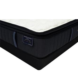 Hurston-EPT Queen Mattress w/Regular Foundation by Stearns & Foster