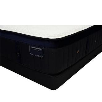 Pollock-TT Queen Mattress w/Regular Foundation by Stearns & Foster