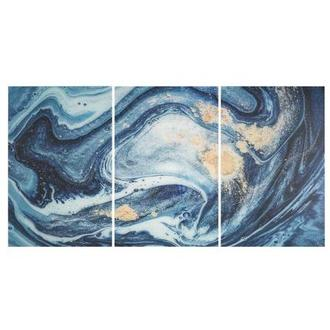 Waves Set of 3 Acrylic Wall Art