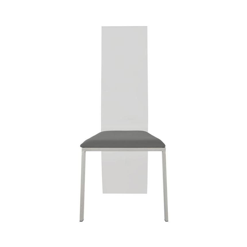Layra Gray Side Chair  main image, 1 of 6 images.