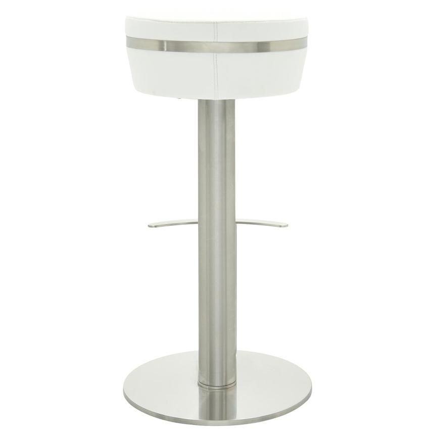 Lexi White Bar Stool  alternate image, 4 of 6 images.
