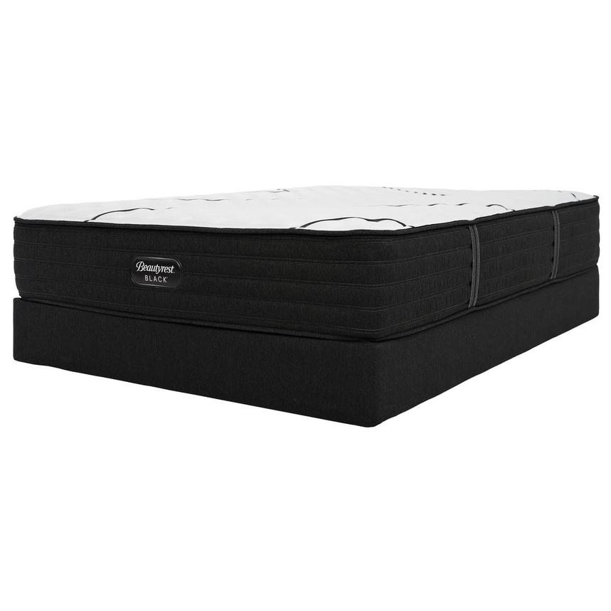 BRB-L-Class Firm Full Mattress w/Low Foundation by Simmons Beautyrest Black  alternate image, 3 of 6 images.