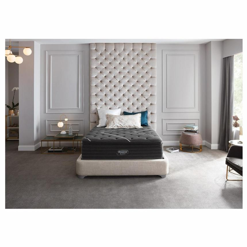 BRB-C-Class PT Full Mattress w/Low Foundation by Simmons Beautyrest Black  alternate image, 2 of 6 images.