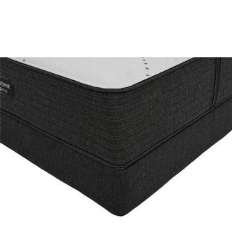 BRX 1000-Firm King Mattress w/Low Foundation by Simmons Beautyrest Hybrid