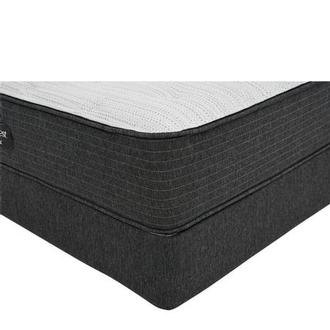 BRBS900-TT-Firm Queen Mattress w/Low Foundation by Simmons Beautyrest Silver