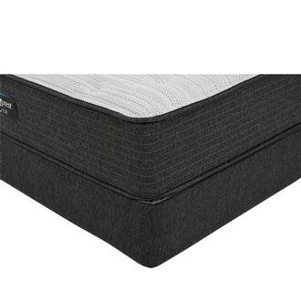 BRS900-TT-Plush Queen Mattress w/Regular Foundation by Simmons Beautyrest Silver