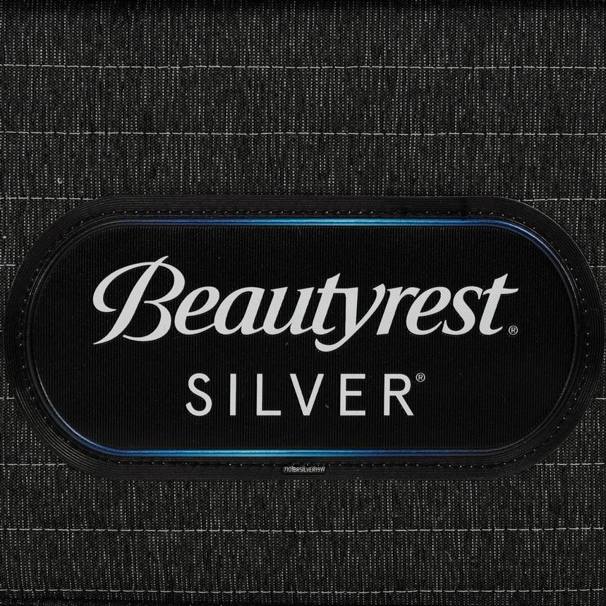 BRS900-ET-MS Queen Mattress w/Regular Foundation by Simmons Beautyrest Silver  alternate image, 5 of 6 images.