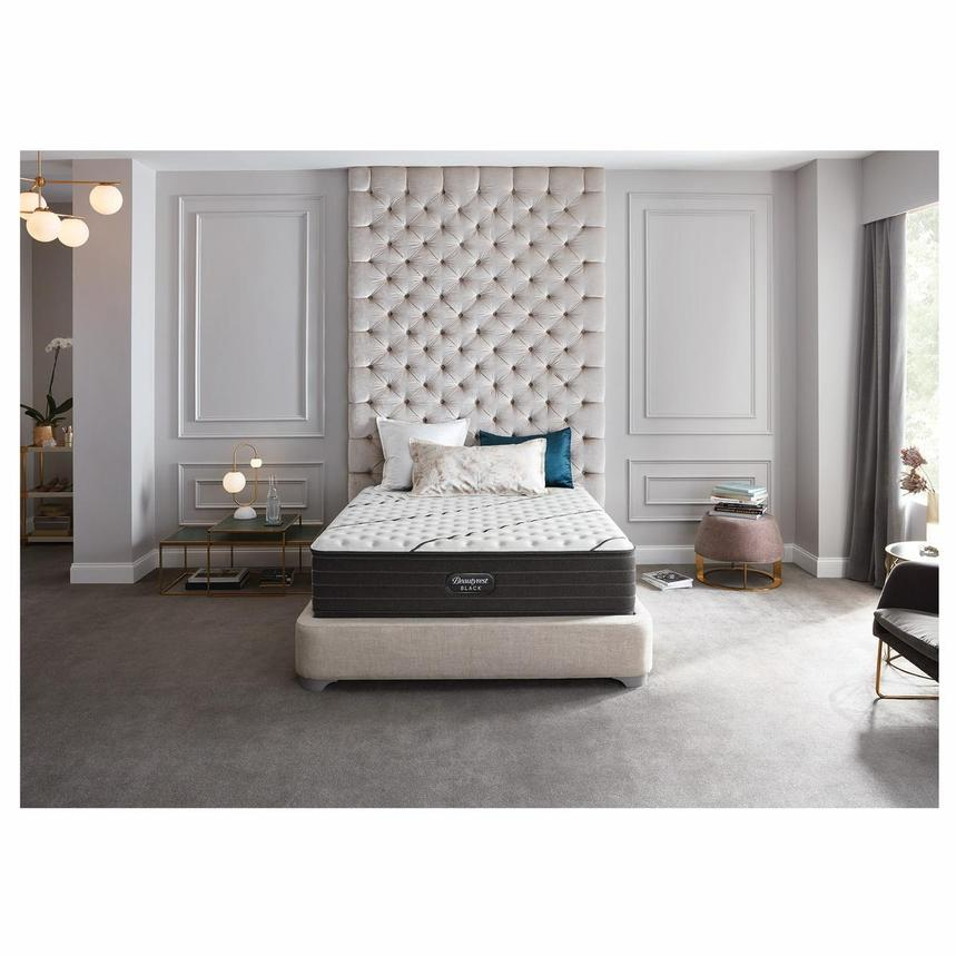 BRB-L-Class Firm Queen Mattress w/Regular Foundation by Simmons Beautyrest Black  alternate image, 2 of 6 images.