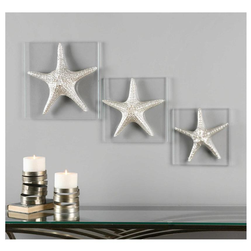 Sea Stars Wall Decor  alternate image, 2 of 2 images.