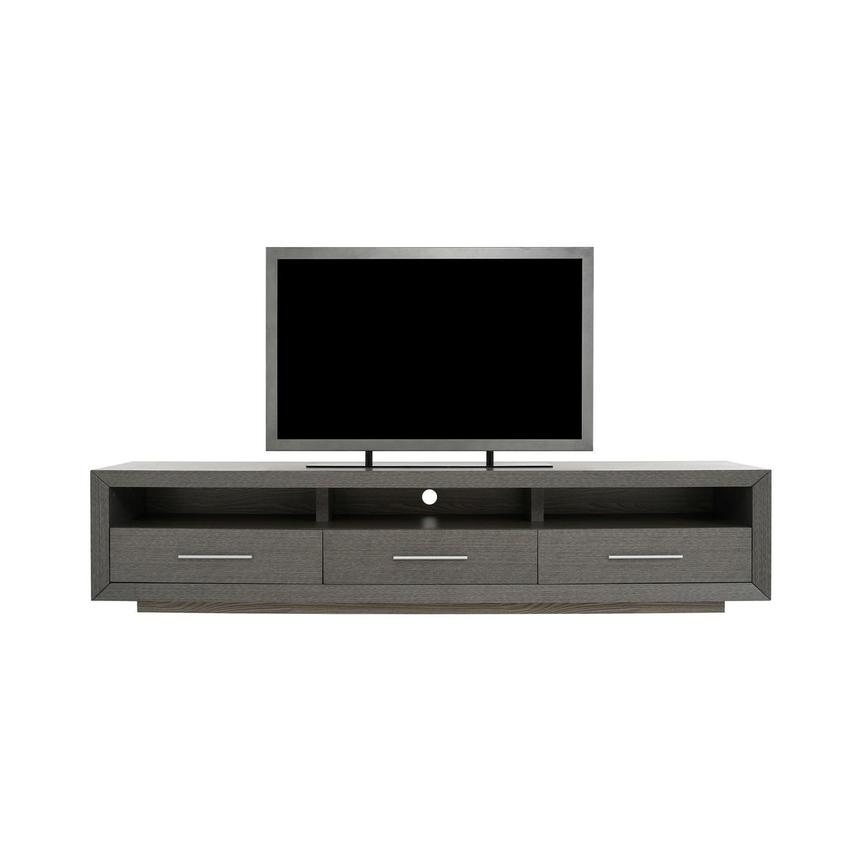 Contour I Gray TV Stand  main image, 1 of 8 images.