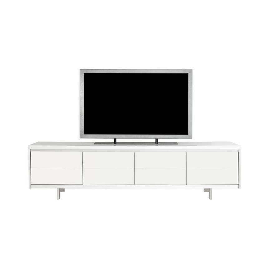 Taylor White TV Stand  main image, 1 of 7 images.