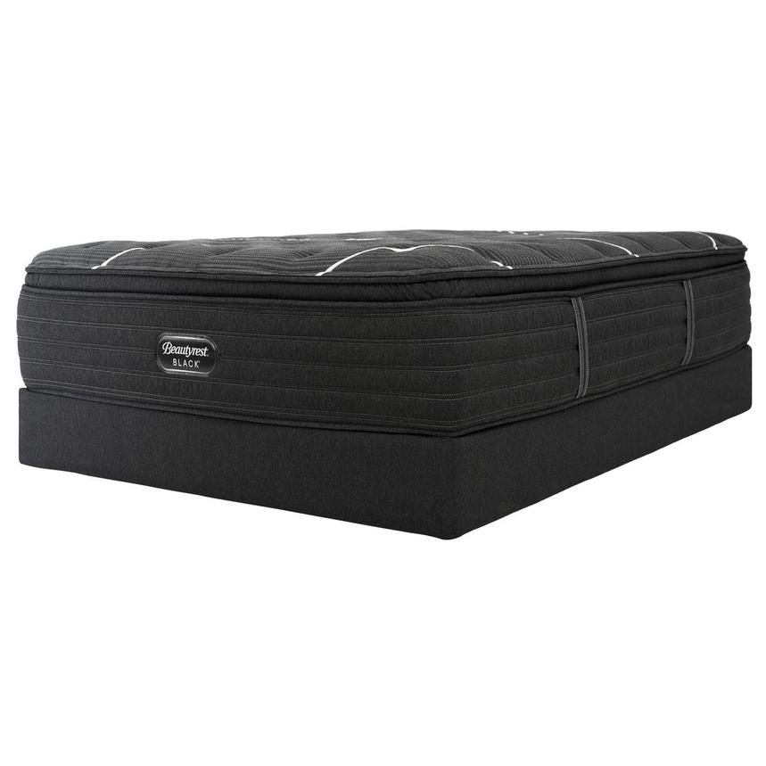 BRB-C-Class PT Twin XL Mattress w/Low Foundation by Simmons Beautyrest Black  alternate image, 3 of 6 images.