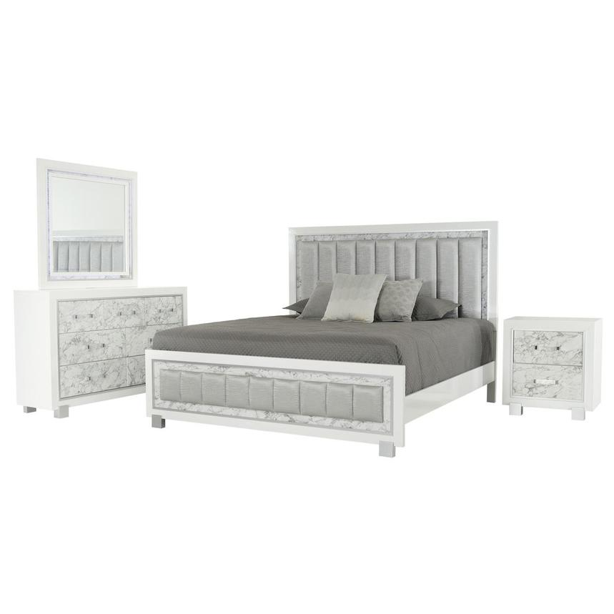 Alessandra 4-Piece King Bedroom Set  main image, 1 of 5 images.