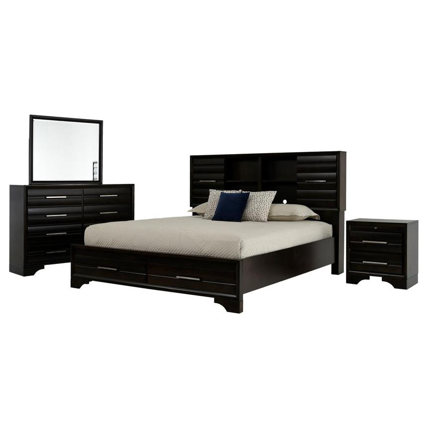 Andy 4-Piece King Bedroom Set  main image, 1 of 5 images.