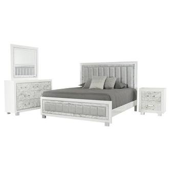 Alessandra 4-Piece Queen Bedroom Set