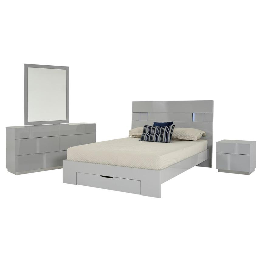 Nicole 4-Piece Queen Bedroom Set  main image, 1 of 5 images.