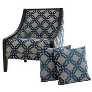 Anchor Accent Chair w/2 Pillows  main image, 1 of 10 images.
