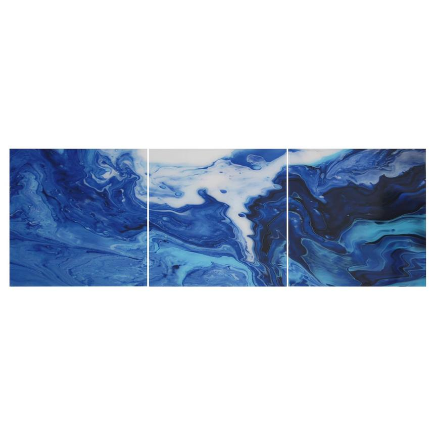 Cascade Set of 3 Acrylic Wall Art  main image, 1 of 3 images.