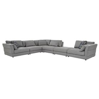 Skyward Sectional Sofa w/Ottoman