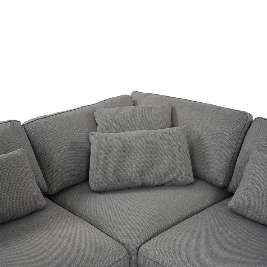 Skyward Sectional Sofa w/Ottoman  alternate image, 5 of 5 images.