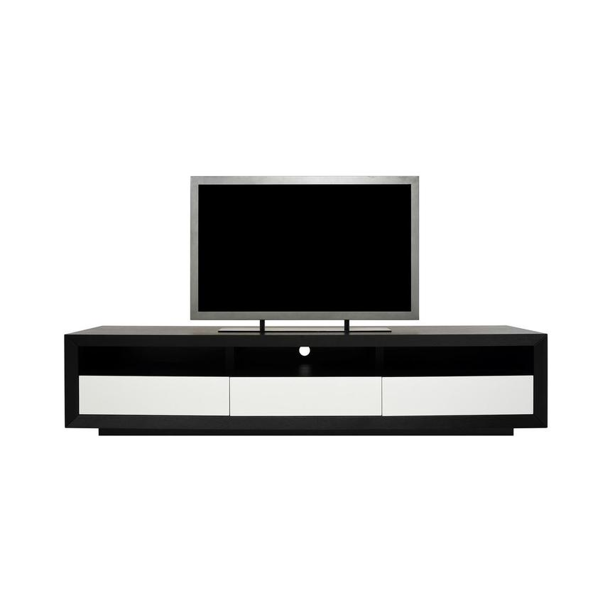 Contour II Black TV Stand  main image, 1 of 7 images.