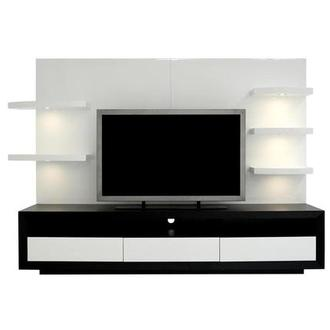 Contour II Black/White Wall Unit