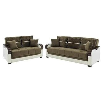 Bennett Brown Living Room Set w/Storage